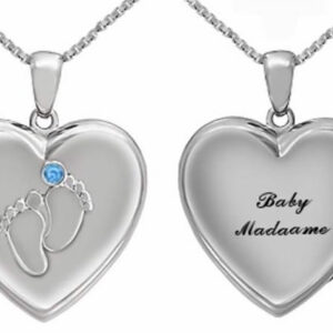 Baby Heart Pendant Locket from Madaame