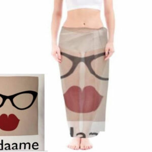 madamme retro transparent sarong from Madaame