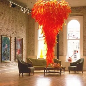 Murano glass chihuly italian Chandelier from Madaame