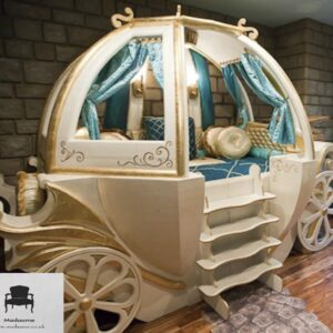 Luxurious Carriage Bed for Little Princesses and Princes from Madaame