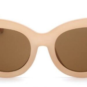 Vintage retro sunglasses in coral colour from Madaame
