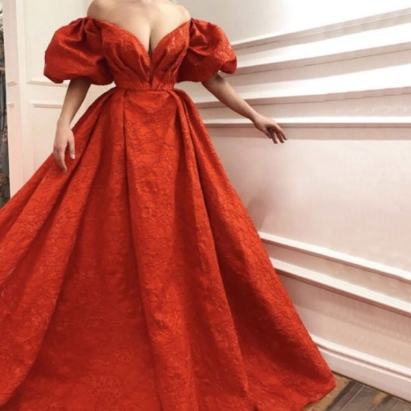 Gorgeous Red Evening Ball Gown from madaame.co.uk