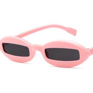 futuristic fashion style sunglasses in pink from Madaame