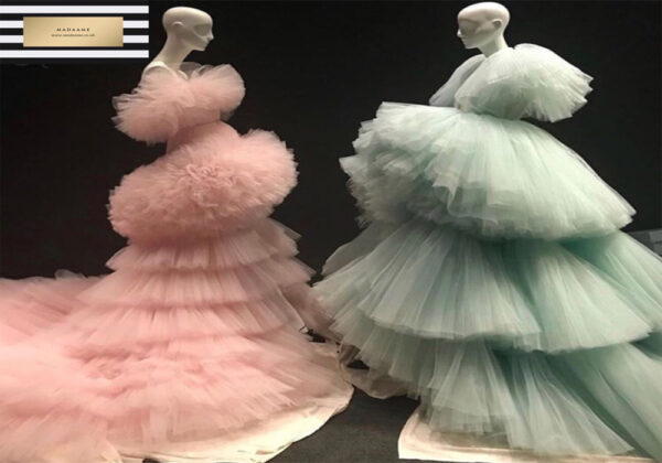 Ruffled Ball Gowns from Madaame.co.uk