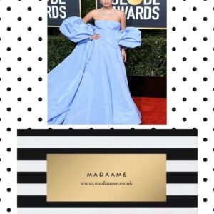 Lavender Dress Ball Gown like Lady Gaga wore at the Golden Globe Awards