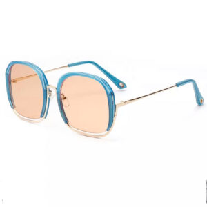 Blue Rimmed Sun Glasses